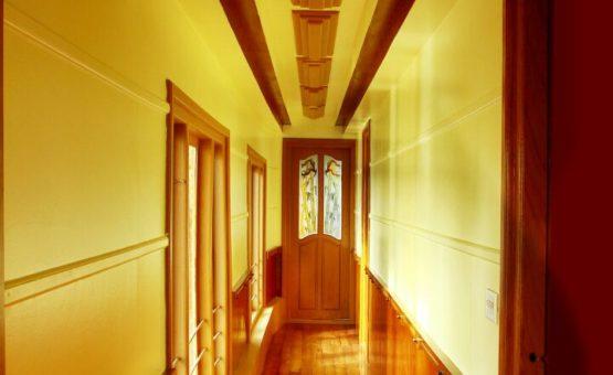 Corridor in Alleppey Houseboat